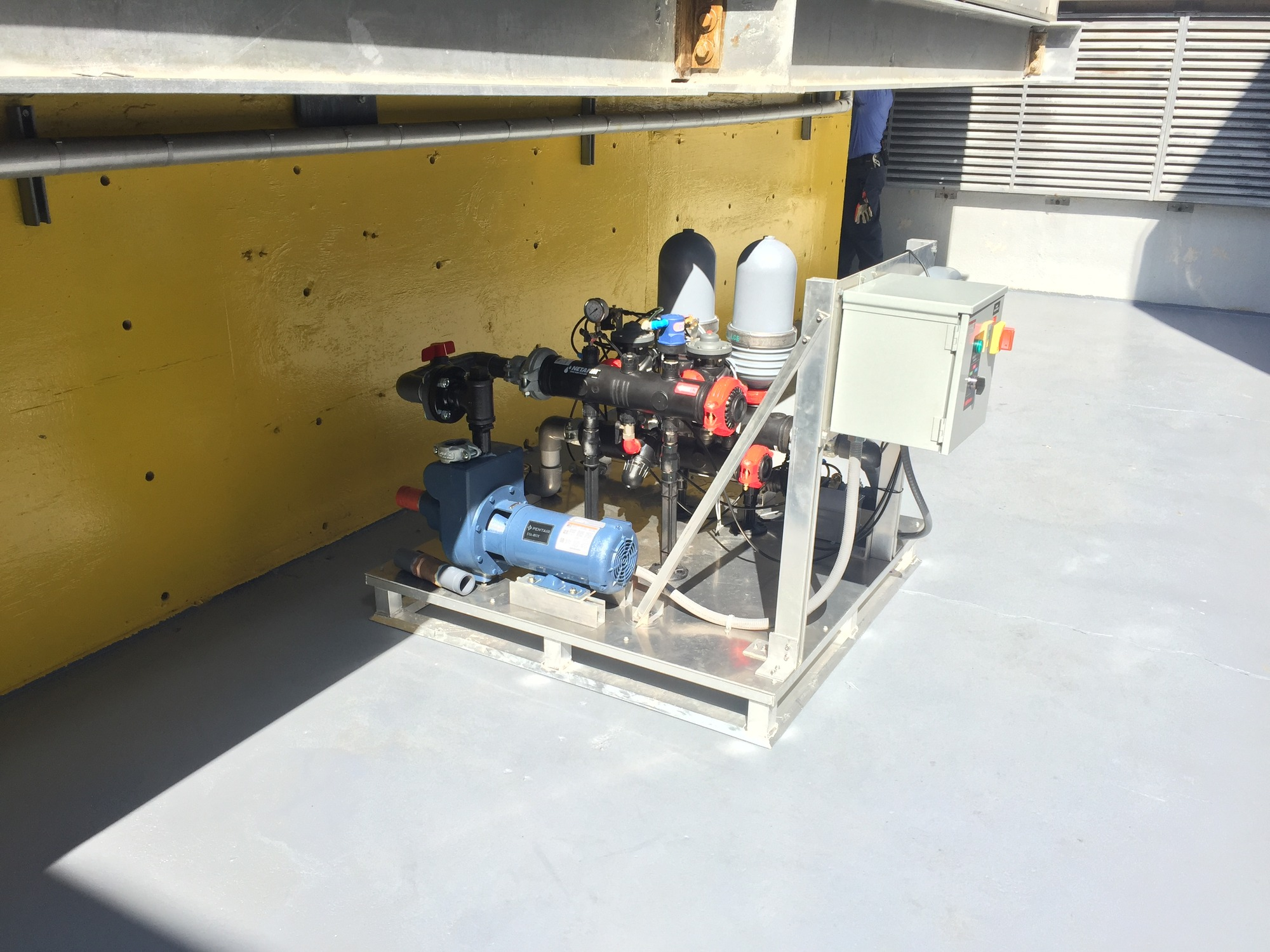 Onsite Wastewater Treatment skid